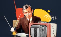 banner e-boeken man met televisie